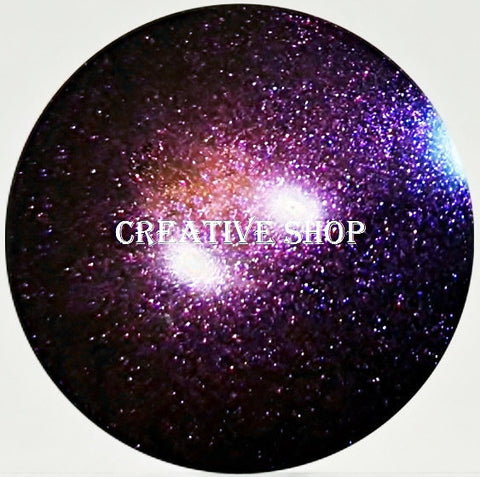 Creative Shop Space Collection replacement stamper head - Black/Purple