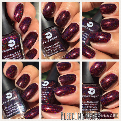 Lilypad Lacquer - Bleeding Heart