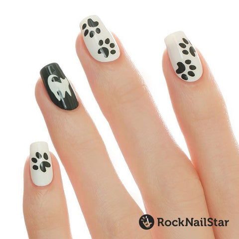 RockNailStar vinyl stencils and stickers - Cats mini