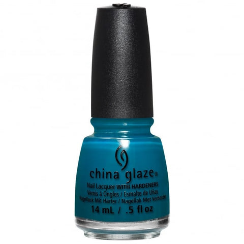 China Glaze - Rebel - Jagged Little Teal