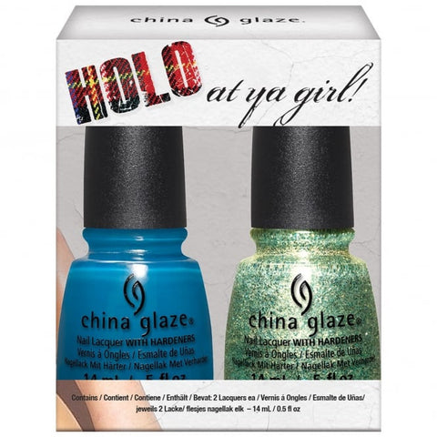 China Glaze - Rebel - Holo At Ya Girl! Duo (2x14ml)