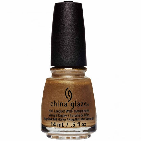 China Glaze - Street Regal - Truth Is Gold