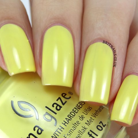 China Glaze - Off Shore - Sun Upon My Skin
