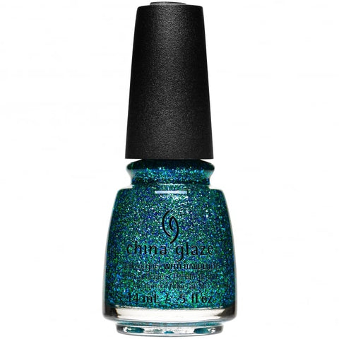 China Glaze - Glam Finale - Teal The Fever