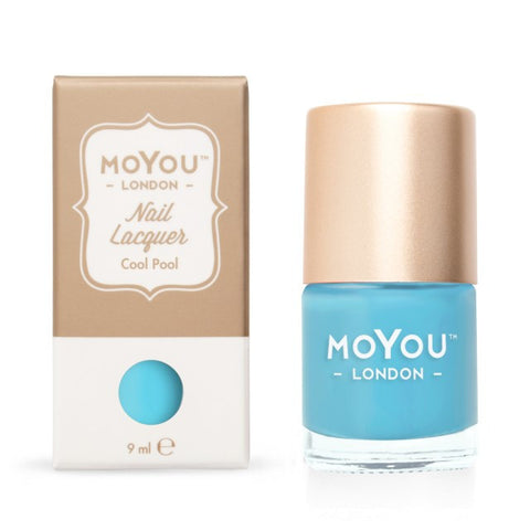 MoYou London Stamping Polish - Cool Pool