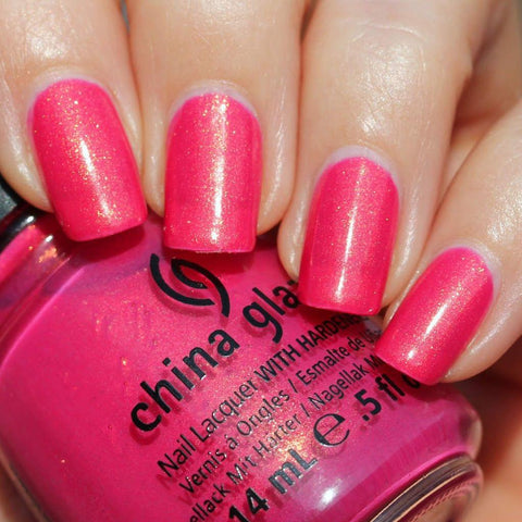 China Glaze - Lacquer & Gel 2 pcs Duo Pack - Strawberry Fields