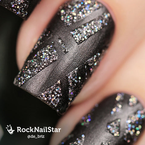 RockNailStar vinyl stencils and stickers - Strips