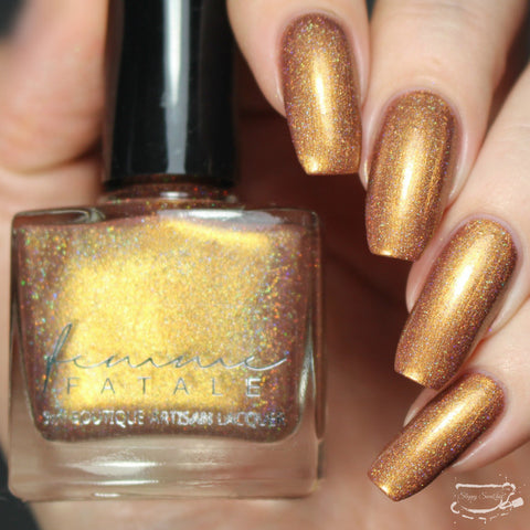 Femme Fatale Cosmetics - Neon Demon - Defiled in Gold
