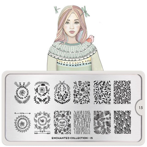 MoYou London Enchanted 15 stamping plate