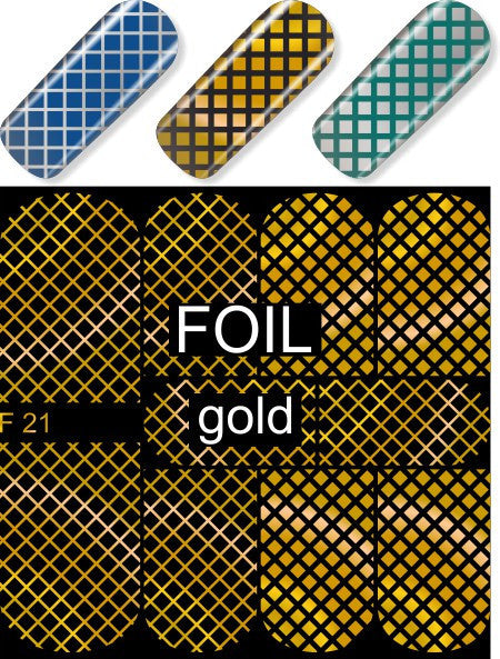 MILV water decals - F 21 gold
