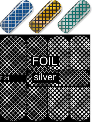 MILV water decals - F 21 silver