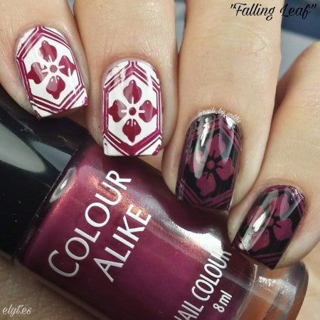 Colour Alike - Stamping Polish - Falling Leaf