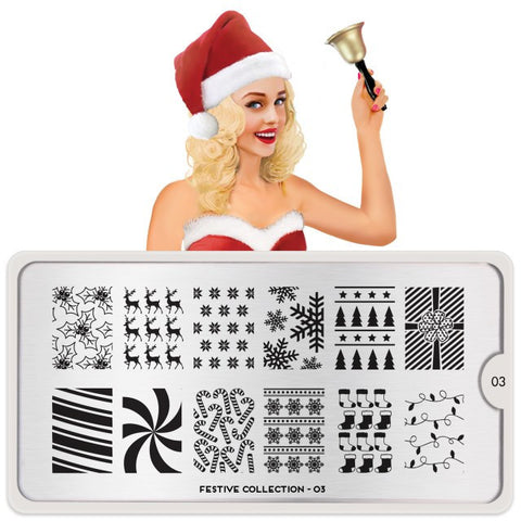 MoYou London Festive 03 stamping plate
