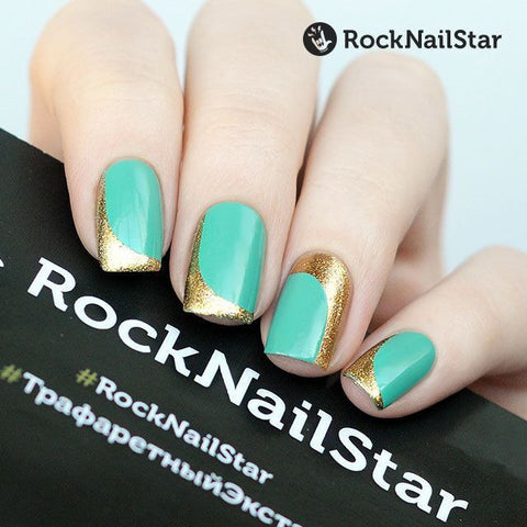 RockNailStar vinyl stencils and stickers - French mini