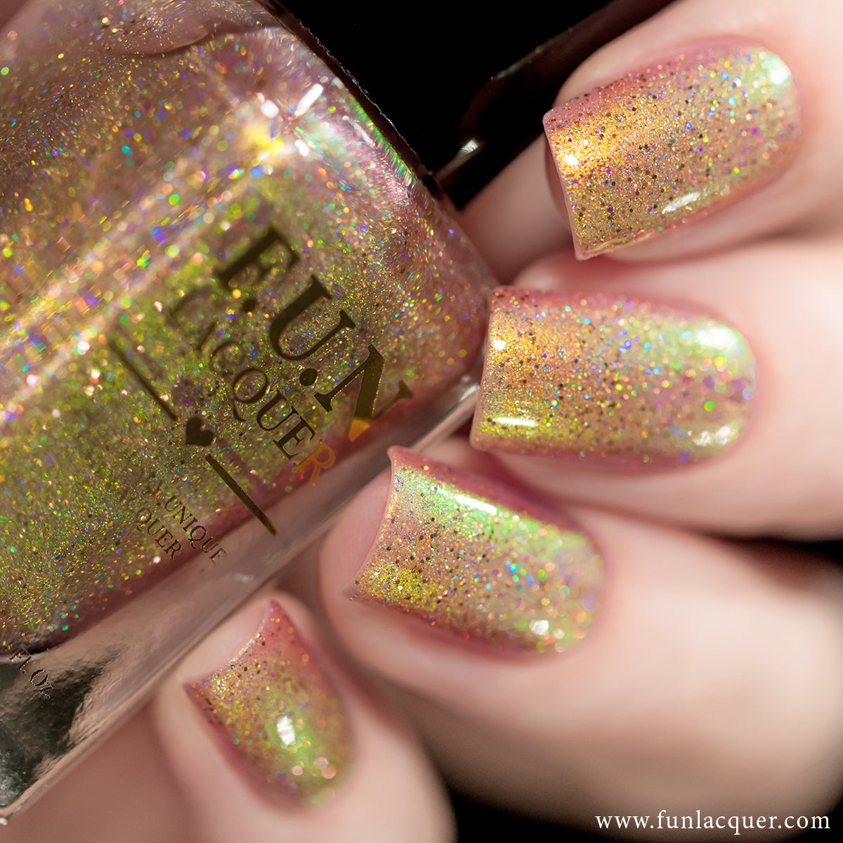 F.U.N Lacquer - Cotton Candy (H)