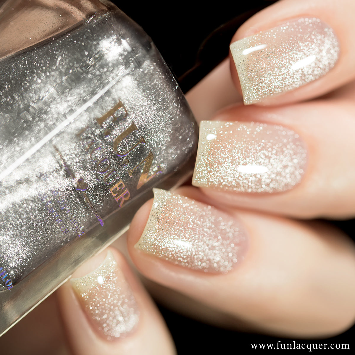 F.U.N Lacquer - Platinum Diamond (regular formula)