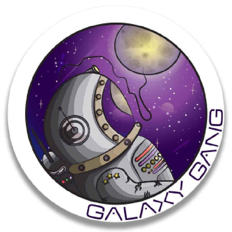 Starrily - Galaxy Gang Sticker