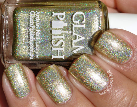 Glam Polish - Anniversary Ultra Holos - Gilded