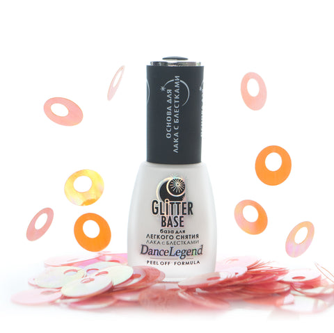 Dance Legend - Glitter Base (clear) - peel off base coat