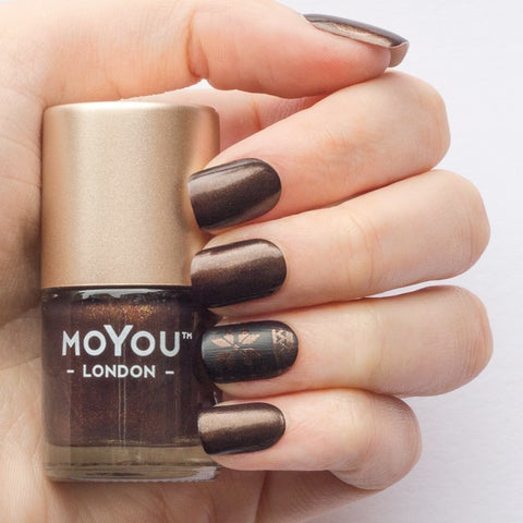 MoYou London Stamping Polish - Gold Espresso