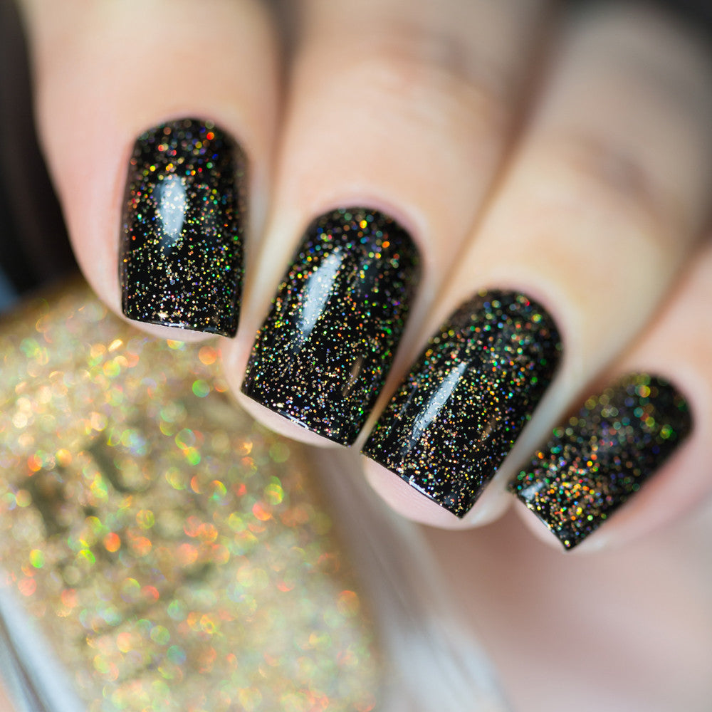 F.U.N Lacquer - Gold Diamond Dust | Hypnotic Polish