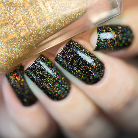 F.U.N Lacquer - Gold Diamond Dust