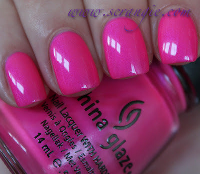 China Glaze - Summer Neons - Hang-Ten Toes