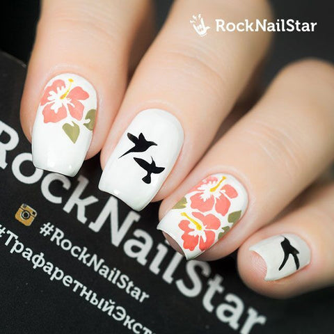 RockNailStar vinyl stencils and stickers - Hawaii