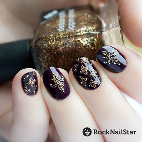 RockNailStar vinyl stencils and stickers - Heraldry mini