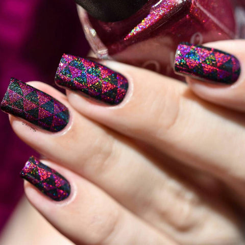 Colors by Llarowe - Stamping Polish - Hey Romeo