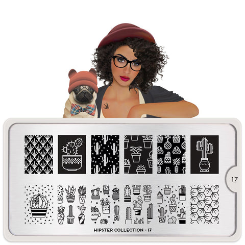 MoYou London Hipster 17 stamping plate