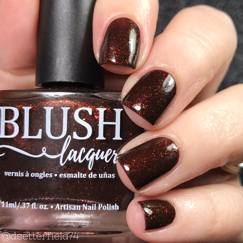 Blush Lacquers - Spiced Cocoa