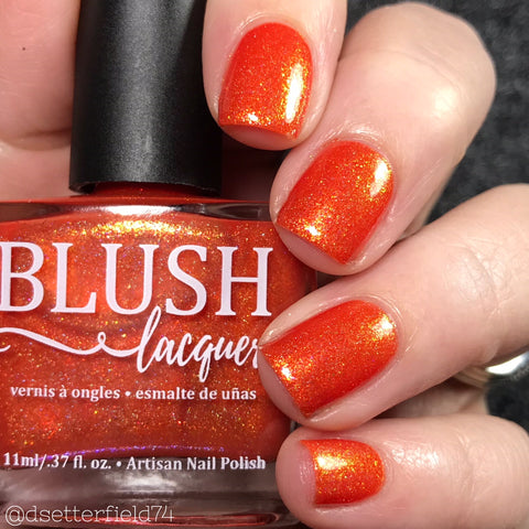 Blush Lacquers - Fall Flame