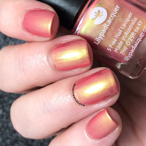 *PRE-ORDER* Lilypad Lacquer - Beautiful Things - Sahara Sunset