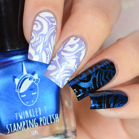 Twinkled T - stamping polish - Clickbait