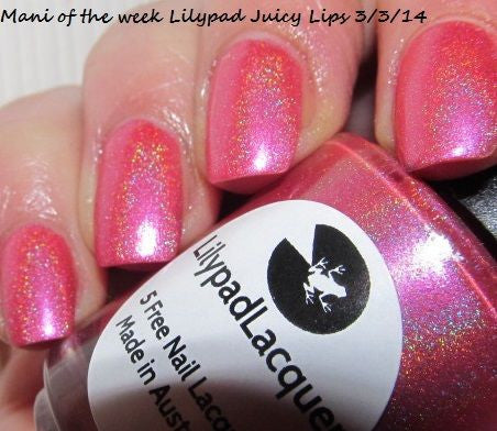Lilypad Lacquer - Juicy Lips