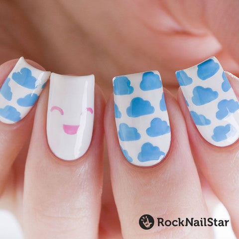RockNailStar vinyl stencils and stickers - Kawaii