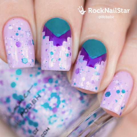 RockNailStar vinyl stencils and stickers - Aztec
