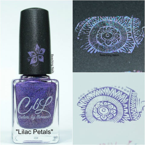 Colors by Llarowe - Stamping Polish - Lilac Petals