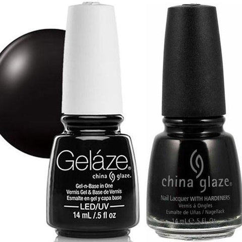 China Glaze - Lacquer & Gel 2 pcs Duo Pack - Liquid Leather