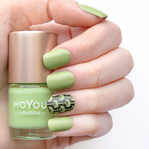 MoYou London Stamping Polish - Hello, Absinthe