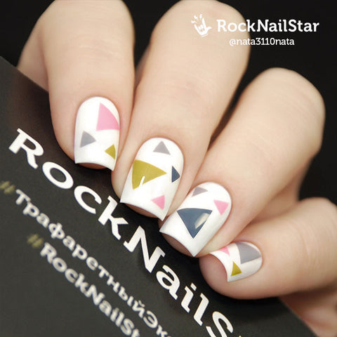 RockNailStar vinyl stencils and stickers - Ethno