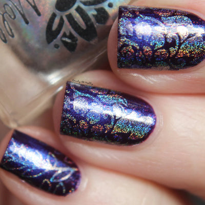 Emily de Molly - Stamping polish silver holo (reformulated) - mini