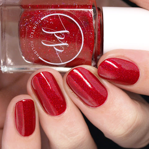 Painted Polish - Red Rose Revelry