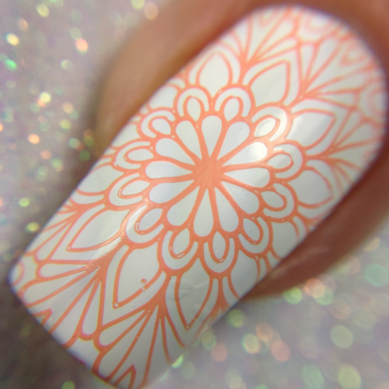 Twinkled T - stamping polish - Coraline