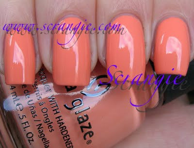 China Glaze - Up & Away - Peachy Keen