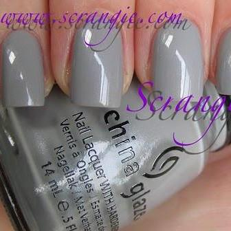 China Glaze - Anchors Away - Pelican Gray