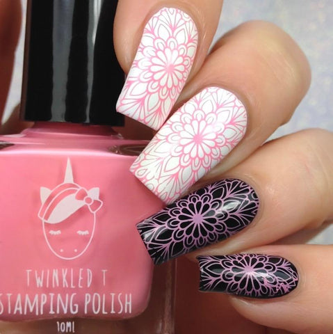 Twinkled T - stamping polish - Dazed