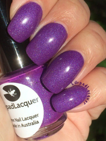 Lilypad Lacquer - Popping Purple