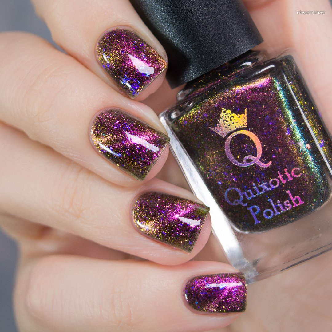 *PRE-SALE* Quixotic Polish - Queen of Shade (Magnetic)